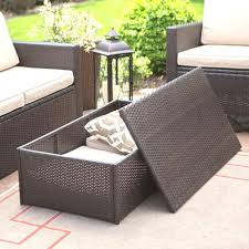 Wicker Patio Coffee Table Patio Coffee Table With Storage Miketechguy