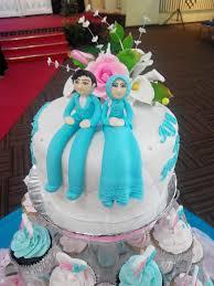 wedding cake jakarta wedding cake biru putih jakarta outlet pejaten flickr