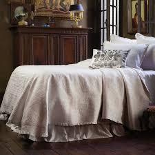 lili alessandra battersea king bedspread in ivory