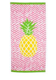 home accents center pineapple beach towel belk