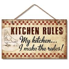 august grove kitchen hanging handcrafted wood sign wall
