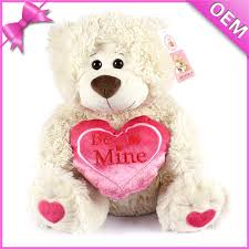 big valentines day teddy bears plush teddy bears big names white teddy toys holding