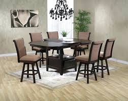 counter height dining table with swivel chairs pub height dining set counter height dining chairs reclaimed wood
