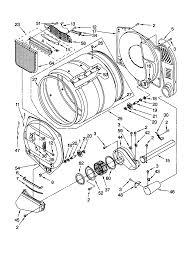 diagram whirlpool duet dryer parts diagram