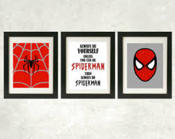 spiderman art etsy