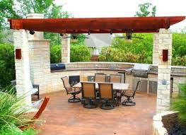 cool backyard kitchen ideas for your home with small pool 7813
