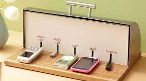 homemade charging station bread box charging station definitely diy