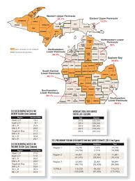 Map Of Lower Michigan by Michigan Deer Forecast For 2016 Game U0026 Fish