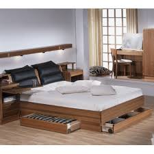 wood bed frame with drawers torring 219 bed frame with three drawers design quest