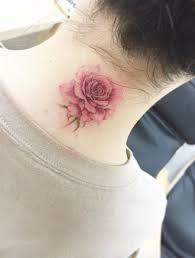 best 25 rose neck tattoo ideas on pinterest rose tattoo on