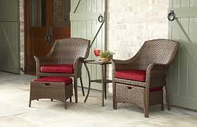 Patio Chairs With Ottomans by Garden Oasis Twain 5pc Seating Set Brown