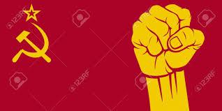 Communist Flag Russia 15039330 Ussr Fist Flag Of Ussr Stock Vector Communist Fist Russia Jpg