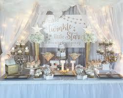twinkle twinkle baby shower decorations backdrop etsy