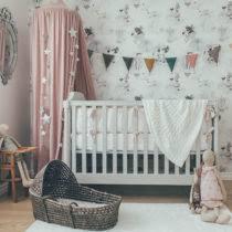 chambre bébé tendance le lapin gris décoration tendance de chambre bébé