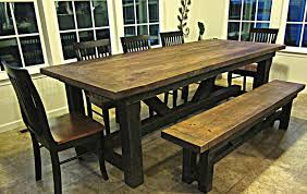 barn wood dining room table provisionsdining com