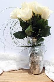 White Roses In A Vase Dozen White Roses In Vase U2013 Lia U0027s Floral Designs