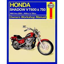 manual haynes for 1992 honda vt 600 cn shadow vlx ebay