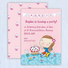 Personalised Birthday Invitation Cards Personalised U0027s Birthday Invitations By Made By Ellis