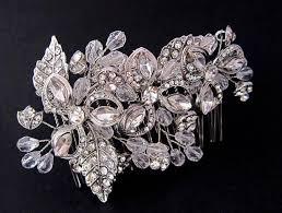 hair brooch design spectacular bridal swarovski hair comb vine leaf design wedding