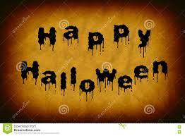 happy halloween words written in blood cartoon vector