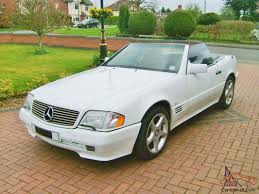 convertible mercedes black mercedes benz 300sl 24 auto convertible white black leather low