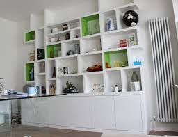 white modern book shelving ideas for your modern living room it