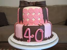 home design picturesque cake designs for 40th birthday 40th