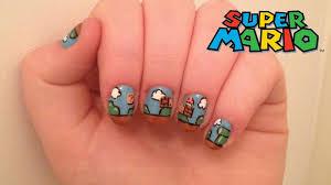 super mario nails youtube