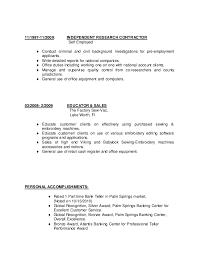 Resume Self Employed Sample Resume Of Self Employed Person Resume Ideas