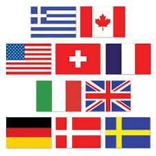 International Bunting Flags Club Pack Of 240 Mini International Flags Of The World Cutout