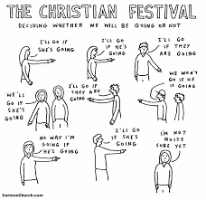 the christian festival cartoonchurch