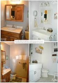 redone bathroom ideas diy half bathroom redo hometalk