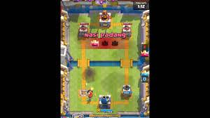 cara melawan sparky princess clash royale membuli leader