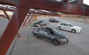 audi a6 or lexus gs 350 six cylinder midsize luxury sedan comparison audi a6 bmw 535i