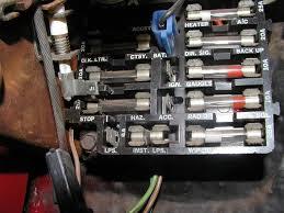 chevy nova fuse box fuse box nova tech all generation wiring