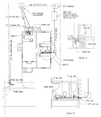 building guidelines drawings section f plumbing sanitation figure f 7