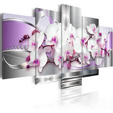 tableau original design impression sur toile fleurs collection de décorations originales