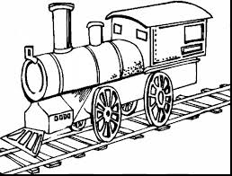 amazing steam engine train coloring pages with train coloring