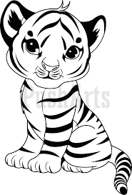 Coloring Pages Of Cute Tiger Coloring Pages Coloring Pages Of Cute Baby Tigers by Coloring Pages Of