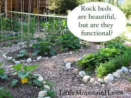 raised rock garden gardening ideas