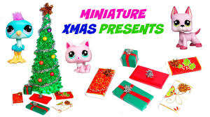 christmas accessories miniature presents diy lps stuff crafts accessories