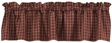Country Plaid Valances Sturbridge Country Curtains Finest Sturbridge Fishtail Swags With