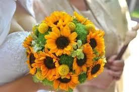 sunflower wedding bouquet a sunflower wedding bouquet thriftyfun