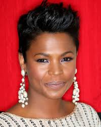 spick hair sytle for black women short spiky hairstyles for square shape faces black women cute