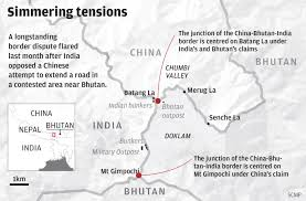 Map Of Nepal And China by India U0027s Got Itself Into A Fine Mess In Doklam It U0027s Time To Get
