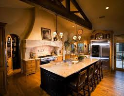amenagement ilot central cuisine idee amenagement ilot hotte cuisine ilot central moderne lumiere