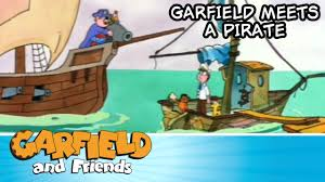 thanksgiving garfield garfield meets a pirate garfield u0026 friends youtube