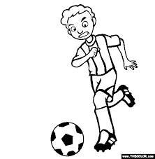 online coloring page sports online coloring pages page 1
