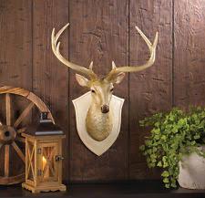 amazing decoration deer wall decor luxury idea faux deer