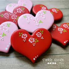 Valentine S Day Sugar Cookies Decorating Ideas by 729 Best Valentine Cookies Images On Pinterest Valentine Cookies